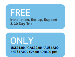 Free Installation, Set-up, Support & 30 Day Trial